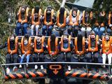 Dos jóvenes trataron entrar con una subametralladora a un parque de diversiones de Six Flags