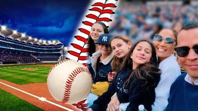"""Entre risas, béisbol y diversión: así fue el """"sábado perfecto"""" de A-Rod y JLo"""