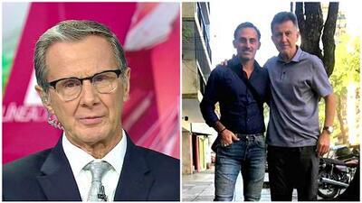 Enrique Borja le 'jaló las orejas' a Osorio por viajar a Argentina y no estar pendiente de la Liguilla
