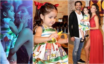 En fotos: así se divierte Giulietta mientras Ana Patricia baila