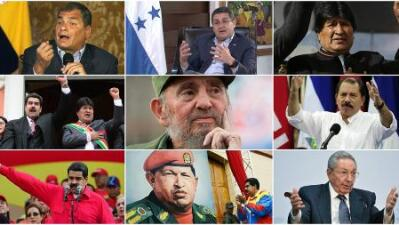 Dinosaurs, clinging to power in Latin America