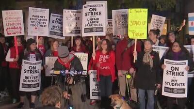 Así transcurre el segundo día de huelga de los maestros de las Escuelas Públicas de Chicago