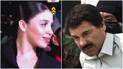 Esposa de 'El Chapo' se entera en corte que el capo sostenía supuestas relaciones con otras mujeres