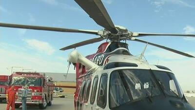 Bomberos de Los Ángeles tendrán dos nuevos helicópteros que ayudarán a combatir incendios