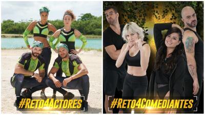 Conoce a los participantes de la segunda temporada de Reto 4 elementos