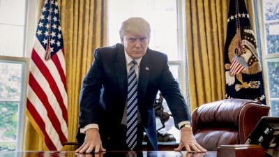 100 días en 100 fotos: El comienzo de la era Trump