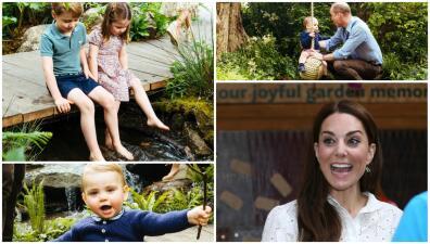 En el aniversario de Meghan y Harry, Kate Middleton presume su jardín y a toda su familia
