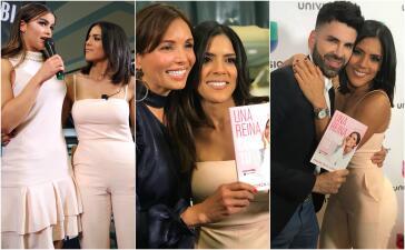 En fotos: Francisca estuvo rodeada de mucho amor (y de sus amigos famosos) en la presentación de su libro