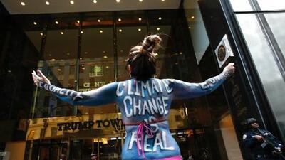La Casa Blanca asegura que en mayo se anunciará si EEUU sale del Acuerdo de París contra el cambio climático