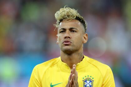 Durante la Copa del Mundo, Rusia 2018, Neymar lució un corte muy polémico.