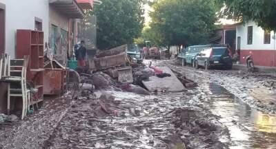 Fotos: Una semana después del paso del huracán Willa, 180,000 personas en Nayarit aún sufren los efectos de las inundaciones