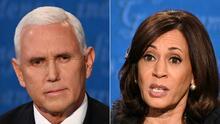 Kamala Harris recibe una llamada de Mike Pence para asistirla en la transición
