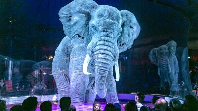 El circo que usa la tecnología para crear una experiencia mágica y libre de crueldad animal (fotos)