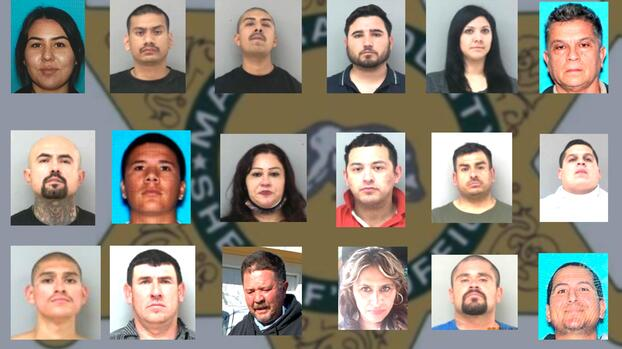 Duro golpe al narcotráfico en el Valle Central: arrestan a 38 sospechosos en operativo especial