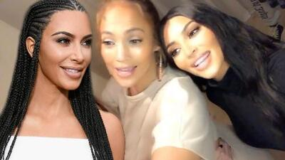 Noche de película en casa de Kim Kardashian con la visita de Jennifer López y la admisión de una obsesión