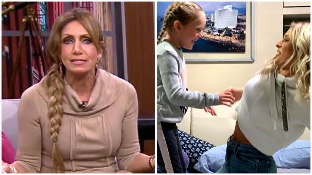 Lili Estefan reacciona indignada al ver las fotos de Irina Baeva al lado de las hijas de Geraldine Bazán