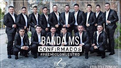 Además de tener 7 nominaciones, Banda MS también cantará en Premio Lo Nuestro