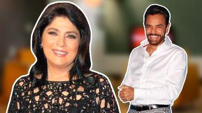 """Victoria Ruffo, ex de Eugenio Derbez, dijo que está dispuesta a trabajar con el actor: """"Depende de cuánto me pague"""""""