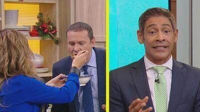 #DAEnUnMinuto: Karla le dio de comer a Alan en la boquita y Johnny está 'bien bueno'