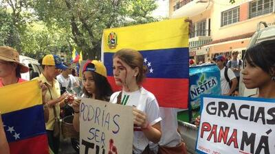 Reclamo a la OEA en Venezuela