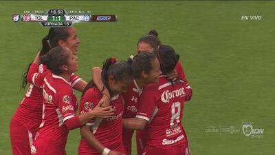 Golazo de Carvajal y Toluca empata el marcador ante Pachuca