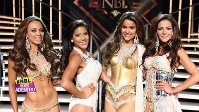 Catherine Castro entre las cuatro finalistas de Nuestra Belleza Latina