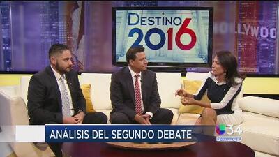 ¿Se ganó nuevo terreno en el segundo debate presidencial?