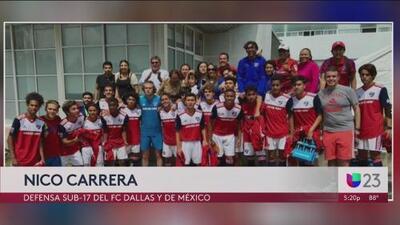 Prospecto del FC Dallas y la selección Mexicana Sub-17