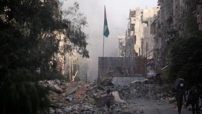 Video: Así se ve la destrucción en Damasco tras más de siete años de conflicto armado en Siria