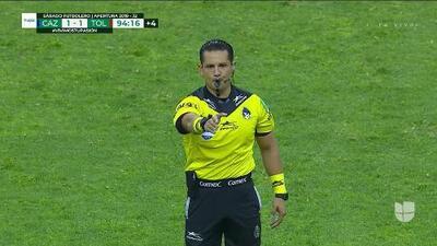 Se acabó el juego. El árbitro dio el silbatazo final.