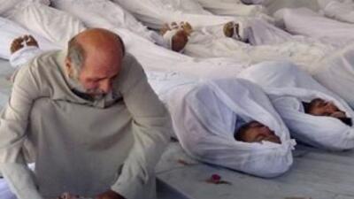 La ONU presentará este lunes el informe sobre armas químicas en Siria