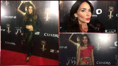 Así llegaron los famosos a la cena de nominados de Premios TVyNovelas 2017
