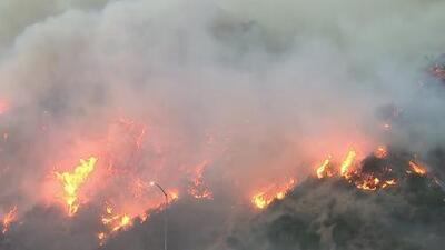 Empleadas domésticas en Brentwood sufren los estragos del incendio Getty