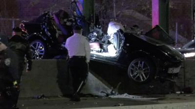 Policía de 25 años fuera de servicio muere en accidente en autopista FDR Drive, otras dos personas están graves