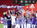 Real Sociedad vence al Athletic y conquista su tercer título de la Copa del Rey