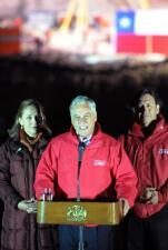 Piñera, orgulloso de los 33 mineros