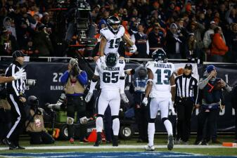 Estas son las claves del juego de la ronda de Comodines entre Eagles y Bears en Playoffs