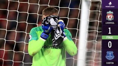 El 'blooper' del 2018 le sirvió al Liverpool para vencer al Everton