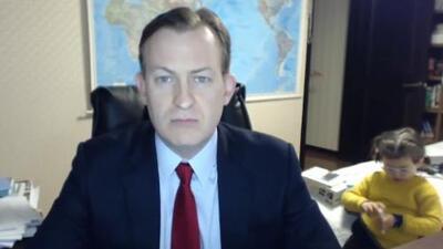 La tierna explicación del experto entrevistado por la BBC que se volvió viral