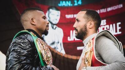 Badou Jack y James DeGale presentaron su pelea del próximo 14 de enero