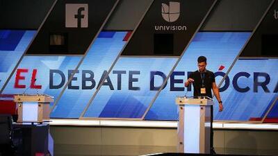 Univision y ABC presentarán el tercer debate de los precandidatos demócratas a la Casa Blanca