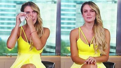 Entre lágrimas, Verónica Montes revela que su participación en Mira Quién Baila tiene mucho que ver con su abuela enferma