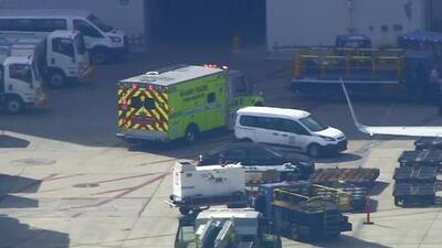 Seis personas fueron evacuadas de un vuelo en el aeropuerto de Miami por inhalación de humo