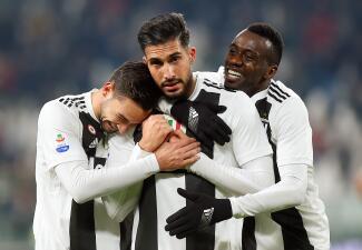 En fotos: Juventus mantiene su liderato en la Serie A a costa del colista Chievo Verona