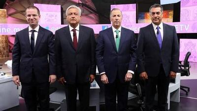 Tres debates presidenciales y ninguno fue decisivo para cambiar las encuestas en México