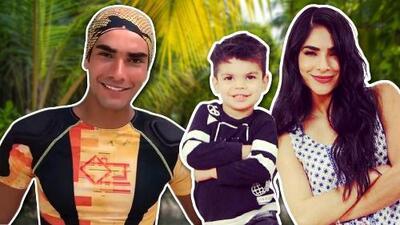 El hijo de Alejandra Espinoza quiere desbancar a su tío en el reality Reto 4 Elementos