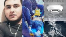Hispano muere intoxicado por humo al calentar a su familia