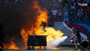 La NFL apaga el fuego: prohíbe la pirotecnia en los estadios