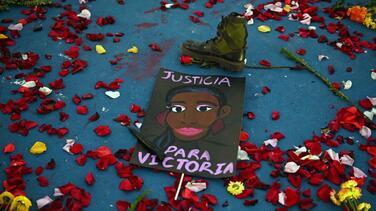 Detienen por abuso sexual a la pareja de Victoria Salazar, la salvadoreña muerta a manos de la policía en México