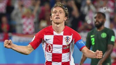 Y el fútbol hizo justicia: Luka Modric, Balón de Oro de Rusia 2018